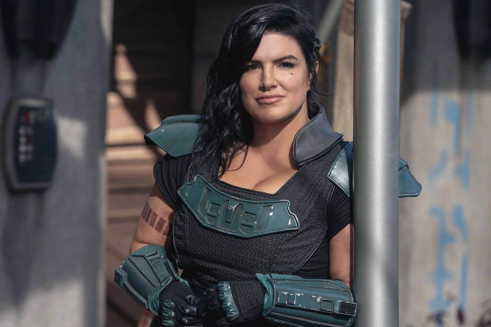 Gina Carano, The Mandalorian (2020) Season 2. Credit: Lucasfilm Limited / The Hollywood Archive Los Angeles CA PUBLICATI