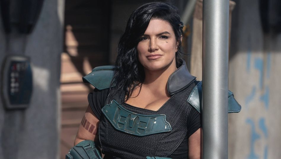 Gina Carano in »The Mandalorian«