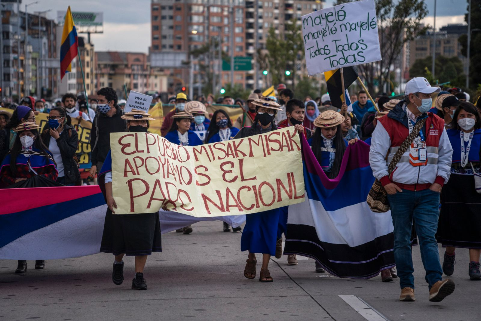 Colombians Strike As Talks With Government Continue