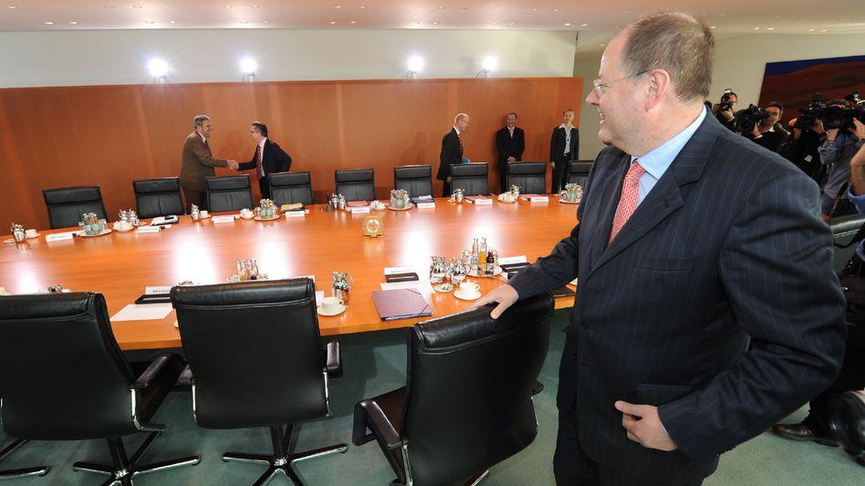 Finanzminister Steinbrück: Die Realitäten nicht vergessen