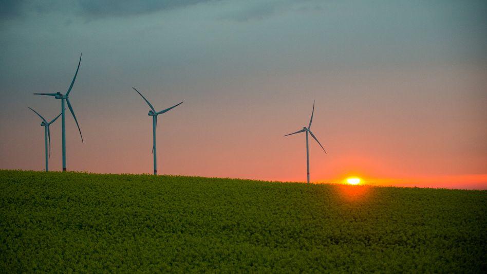 Windräder in Sachsen-Anhalt