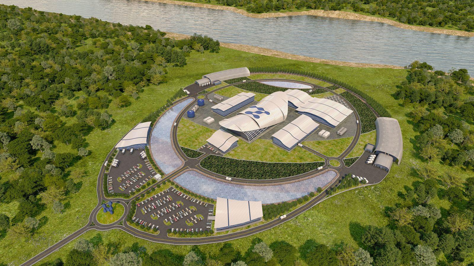 NuScale Power?s small modular nuclear reactor plant