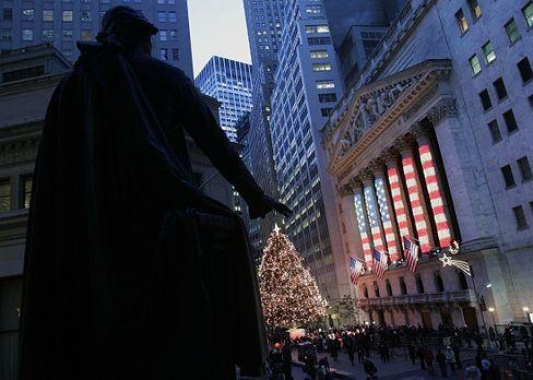 Christmas on Wall Street: Credit-based prosperity.