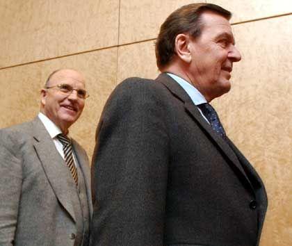 Zwickel und Schröder: Ende der Freundschaft