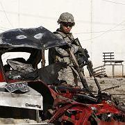 US-Soldat in Bagdad: Serie von Bombenanschlägen tötet mindestens 23 Menschen