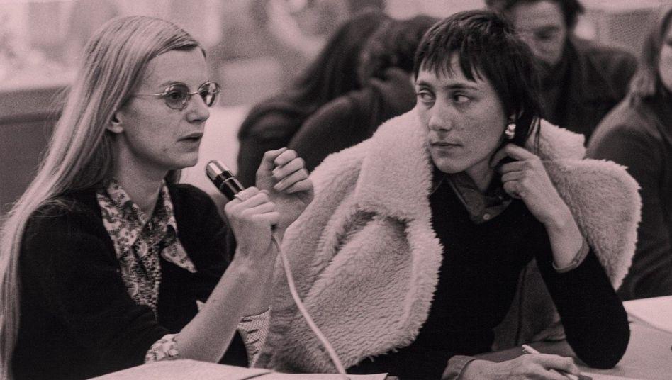 Voll im Film: Die Regisseurinnen Claudia von Alemann und Helke Sander gehörten zu den Hauptfiguren der frühen Frauenbewegung (1973)