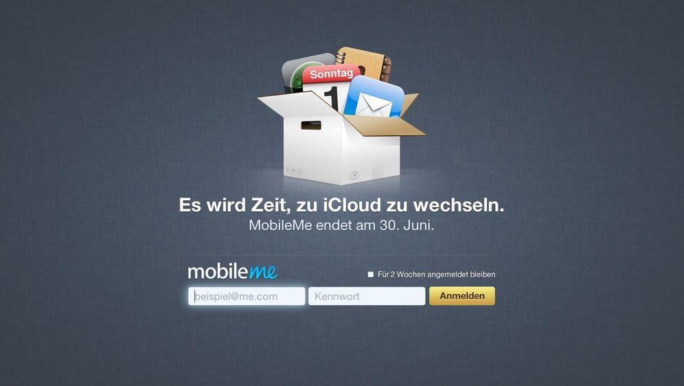 Archivierung: Apple löscht MobileMe-Webauftritte