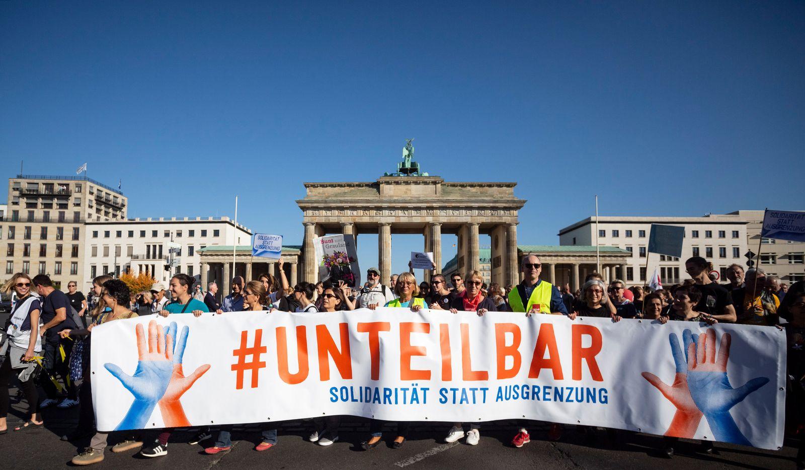 Unteilbar-Kundgebung Berlin