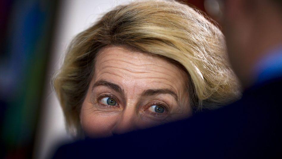 Ursula von der Leyen scheint sich vor der SPD nicht mehr verstecken zu müssen