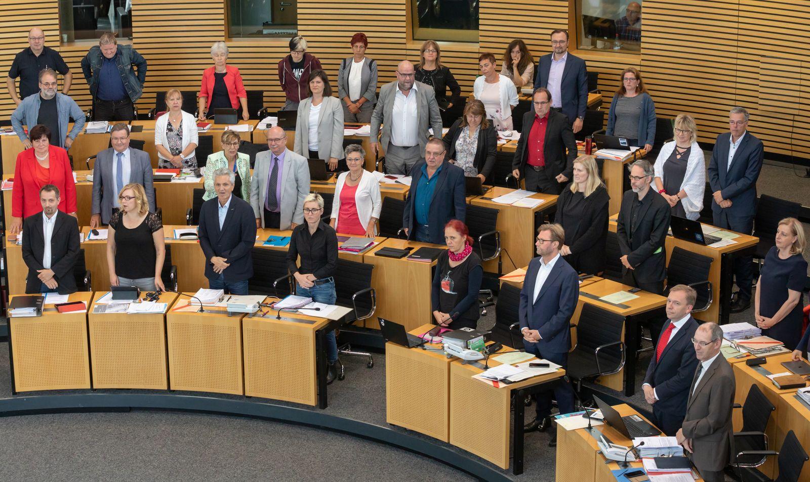 Fortsetzung Landtagssitzung Thüringen