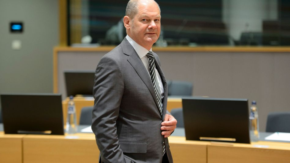 Olaf Scholz in Brüssel (Archivbild)