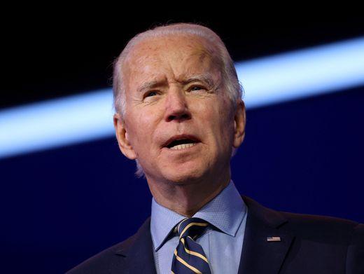 Der neue US-Präsident Joe Biden