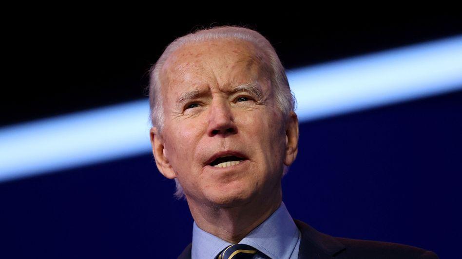 US-Präsident Joe Biden (Archivaufnahme)