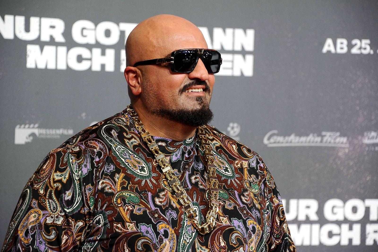 Nur Gott Kann Mich Richten Rapper Xatar bürgl Giwar Hajabi anläßlich der Premiere des Kinofi