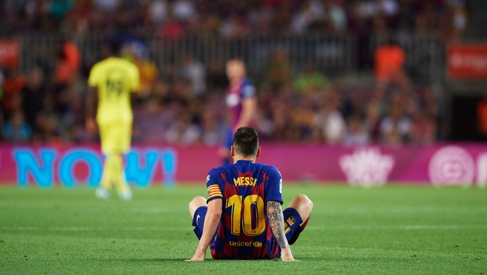 Weltfußballer Lionel Messi: Erst Assist, dann Auswechslung