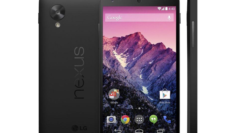 Google Nexus 5: Ungefähr 1400 Wörter bei KitKat auf einer Blockierliste