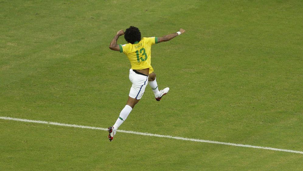 Confed-Cup: Fred-Doppelpack lässt Brasilien jubeln