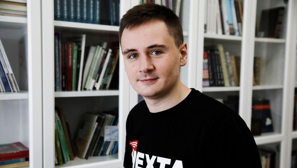 """Stepan Putilo, Gründer von """"Nexta"""""""
