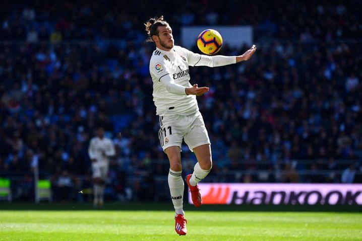 Real Madrids Gareth Bale