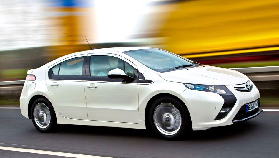 Opel Ampera: Das Elektroauto und sein Schwestermodell Chevrolet Volt werden überarbeitet