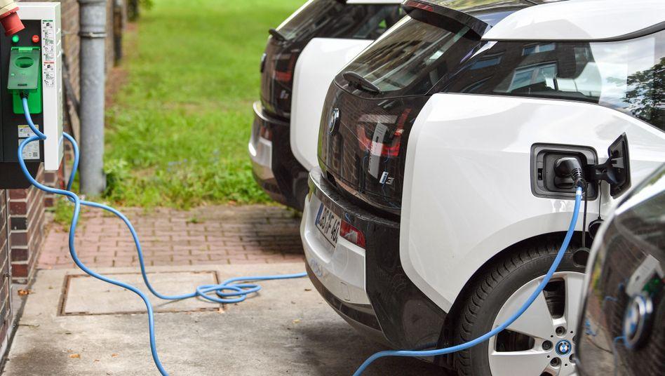 Elektrofahrzeuge von BMW