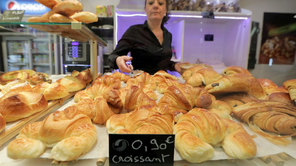 Croissants in Nizza