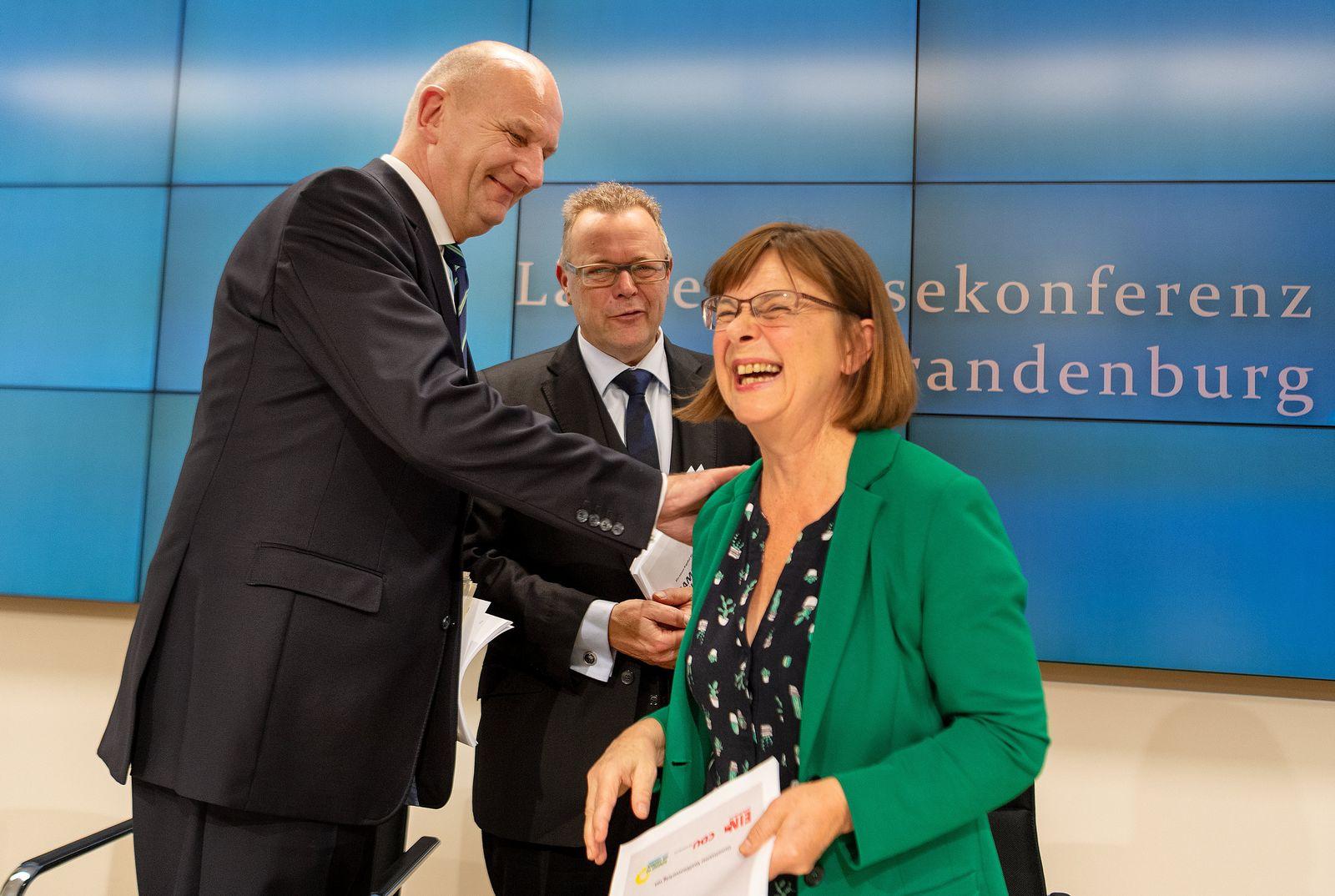 Koalitionsvertrag Brandenburg