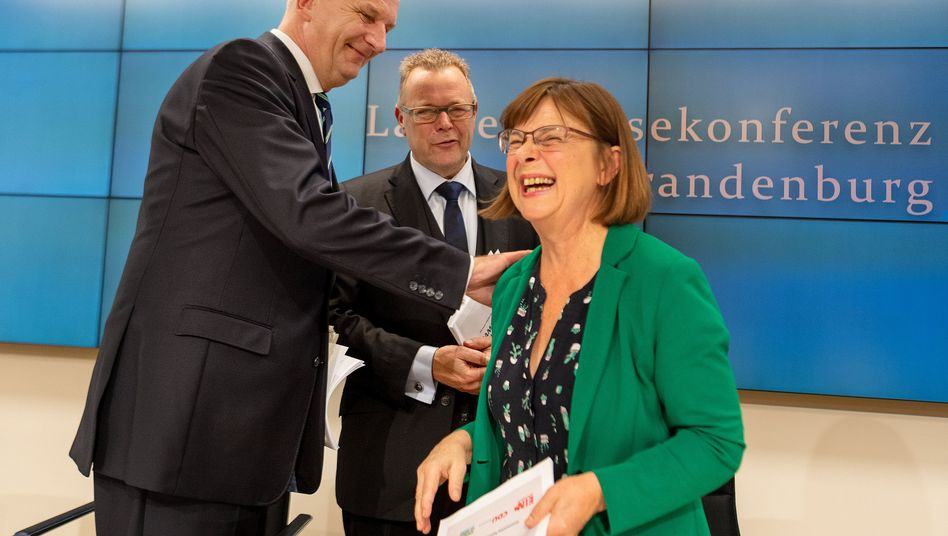 Ministerpräsident Woidke, Koalitionspartner: Weg für Kenia-Bündnis frei
