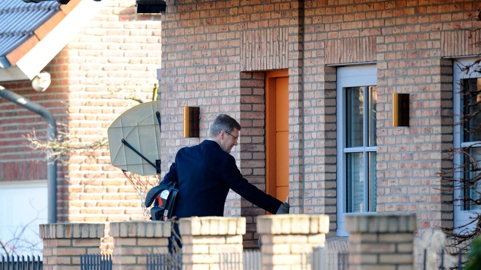 Großburgwedel: Ermittler durchsuchen Haus von Christian Wulff