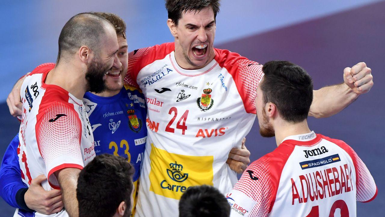 Handball Mazedonien Spanien