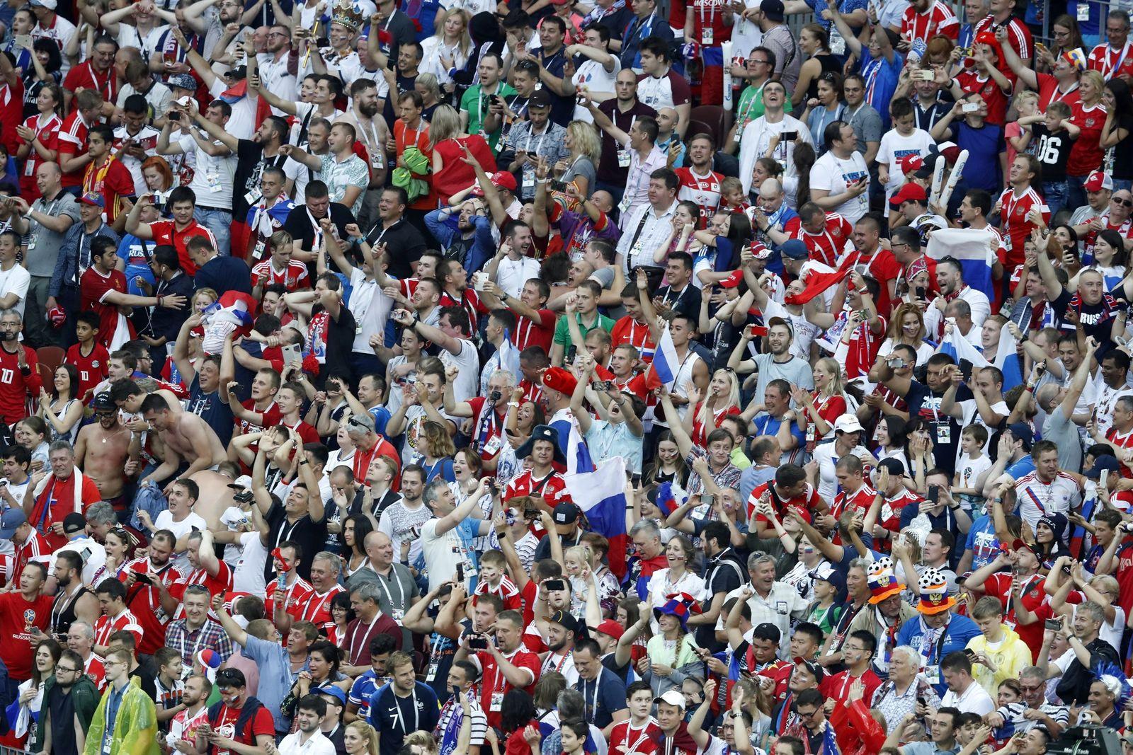 WM2018/ Pobedobesie/ Siegeswahn