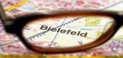 Stadt Bielefeld: Können Straßenkarten lügen?
