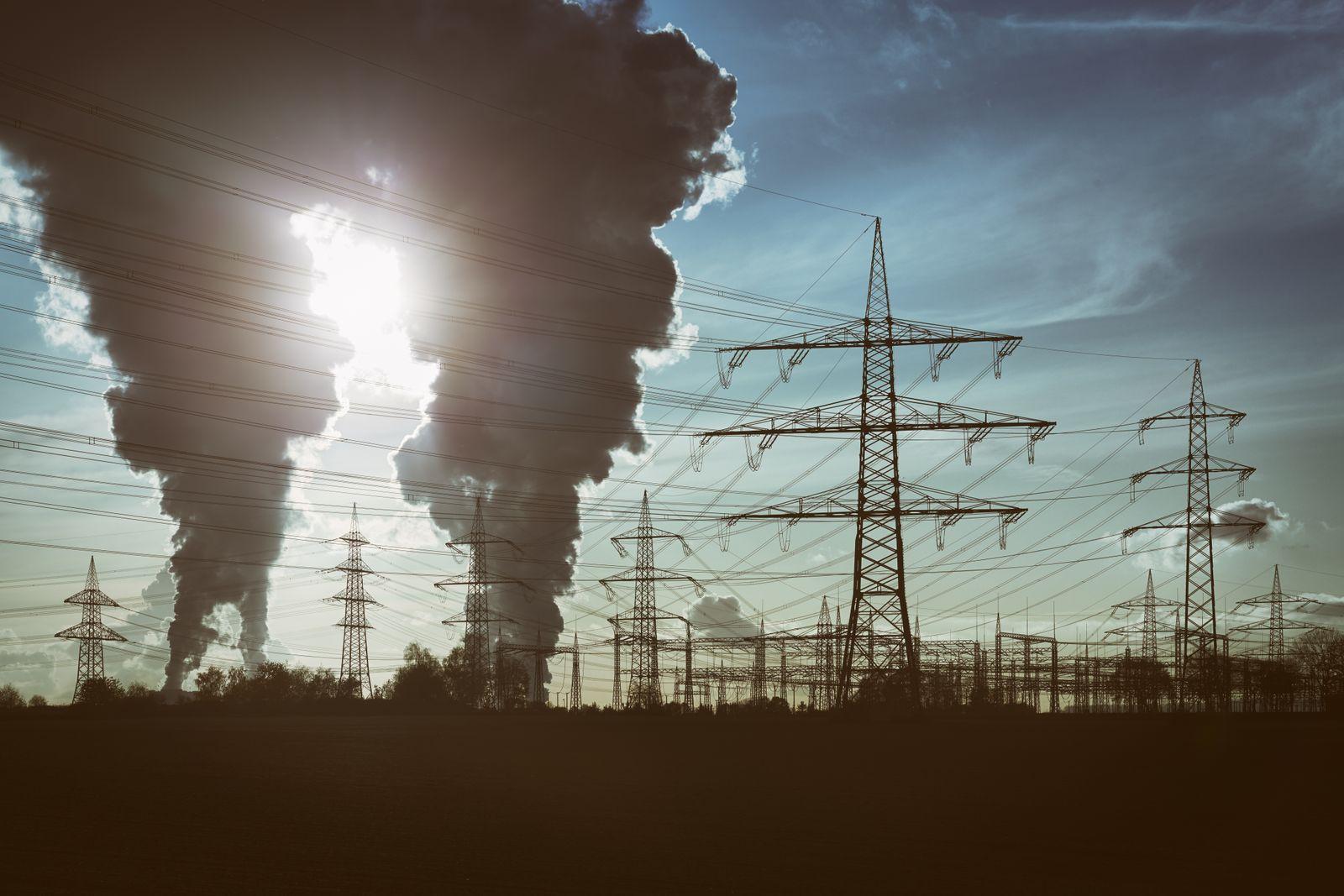 EINMALIGE VERWENDUNG Symbolbild Klima/ Klimaerwärmung/ Klimawandel/ Kohle/ Kohlekraft