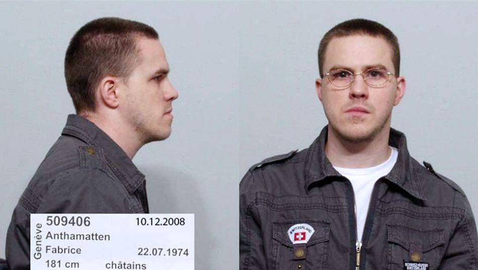 Entflohener Vergewaltiger Fabrice A. (Polizeifoto): Großeinsatz in Weil am Rhein