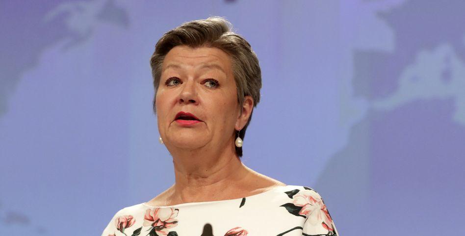 EU-Innenkommissarin Ylva Johansson: Sie zählt zu den Befürworterinnen der neuen Regeln