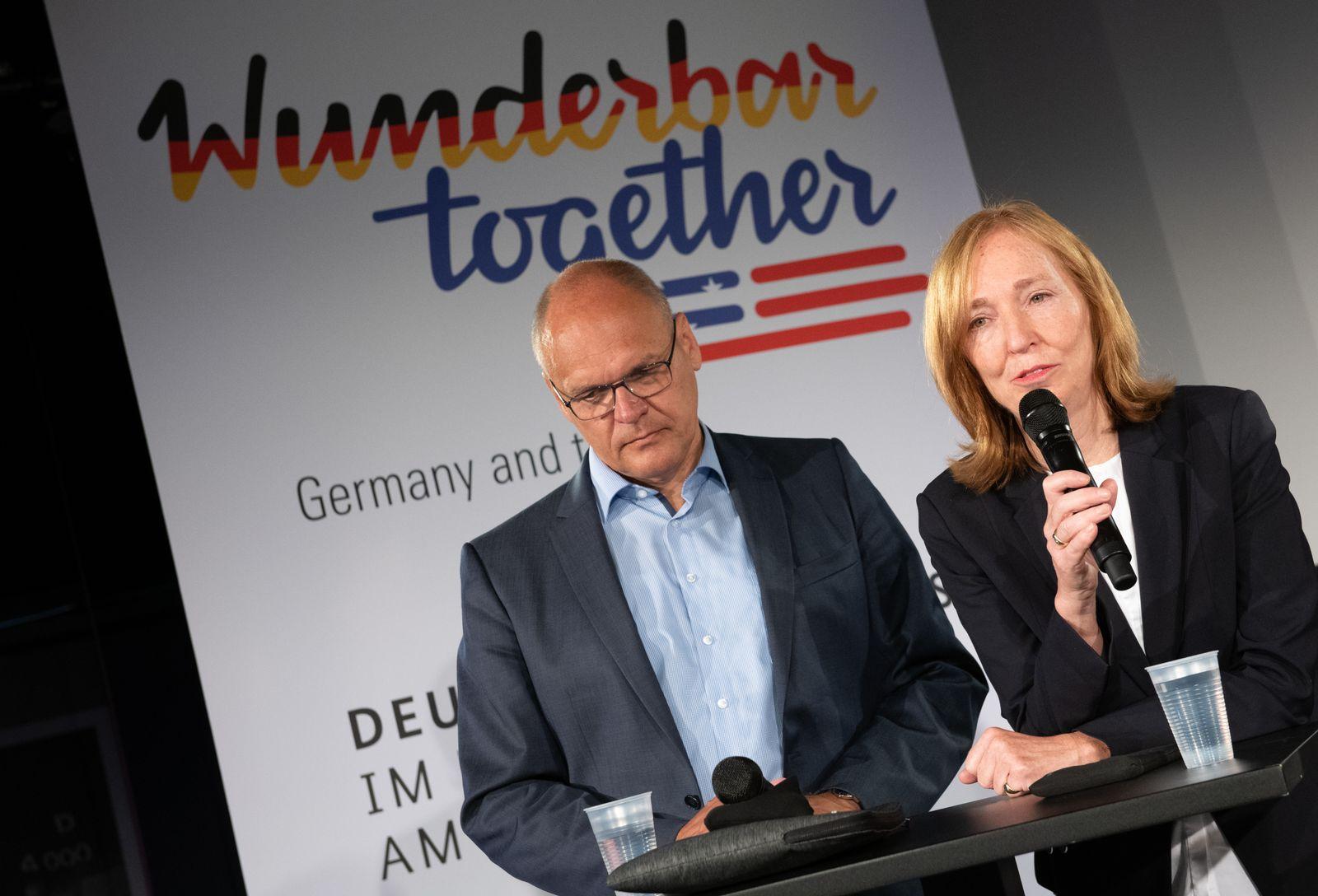 Emily Haber/ deutsche Botschafterin in Washington