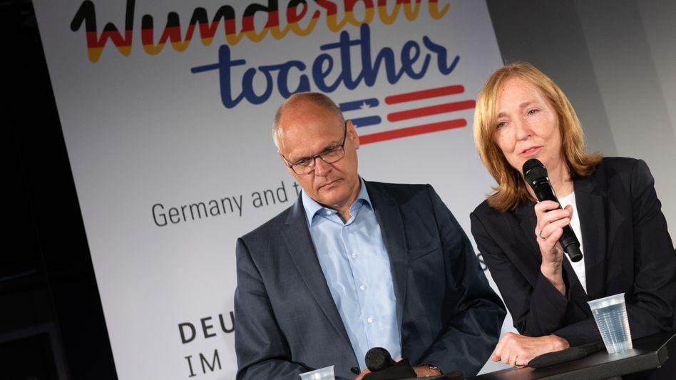 Die deutsche Botschafterin in den USA, Emily Haber