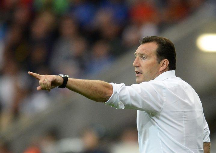 Belgiens Coach Marc Wilmots