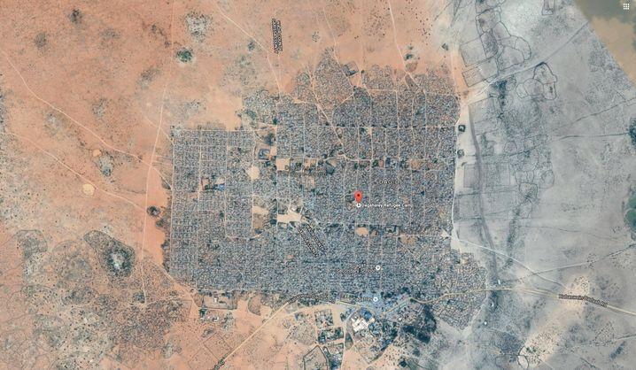 Dagahaley-Camp, Dadaab, 67.000 Einwohner