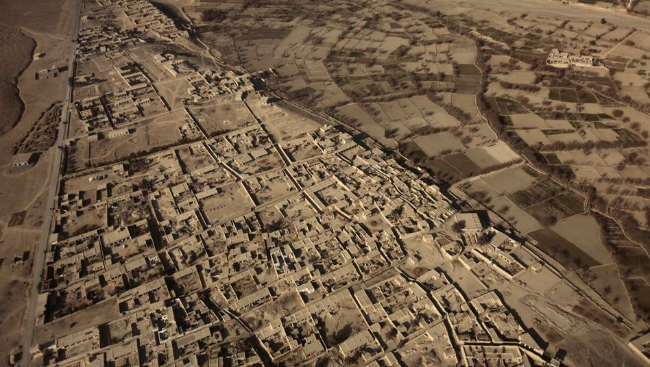 Häuser in der afghanischen Provinz Khost: Tödlicher Anschlag in CIA-Camp