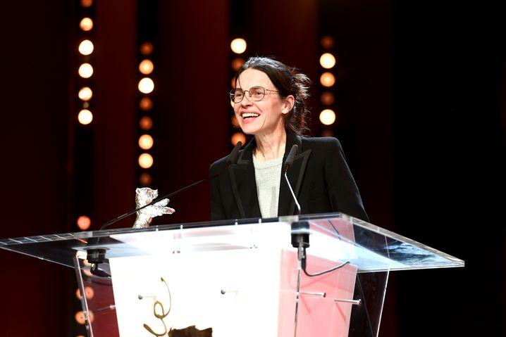 Mit dem Silbernen Bären für die beste Regie ausgezeichnet: Angela Schanelec auf der Berlinale 2019