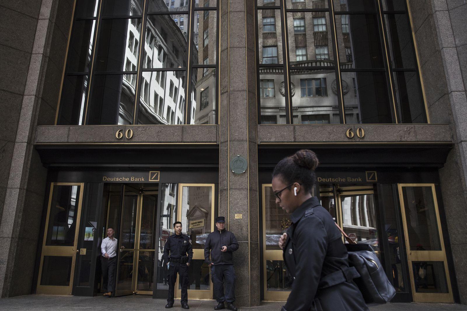EINMALIGE VERWENDUNG Deutsche Bank/ New York