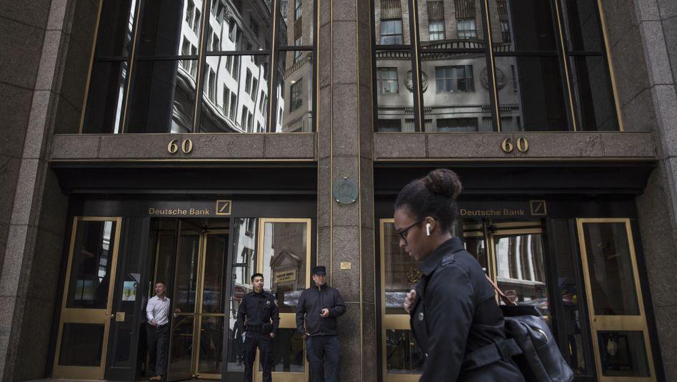 Deutsche-Bank-Zentrale in New York