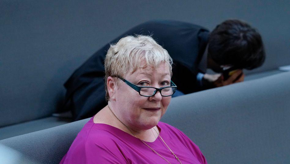 Evelyn Zupke im Bundestag: 516 Abgeordnete stimmten mit Ja
