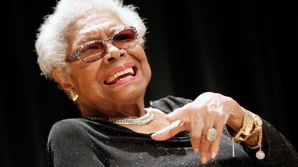 """Maya Angelou (1928-2014): """"Mahnerin zu Einheit und Vernunft"""""""