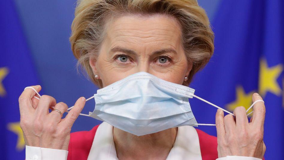 """EU-Kommissionspräsidentin von der Leyen: """"Was gut ist fürs Klima, ist auch gut fürs Geschäft"""""""
