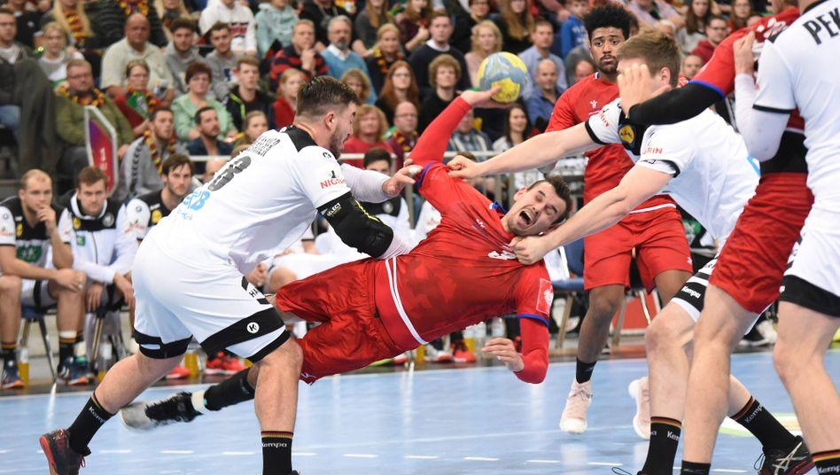 2019 trafen die deutschen Handballer in einem Freundschaftsspiel auf Tschechien