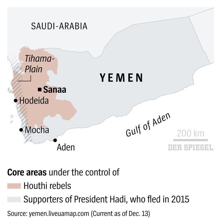 The front in Yemen