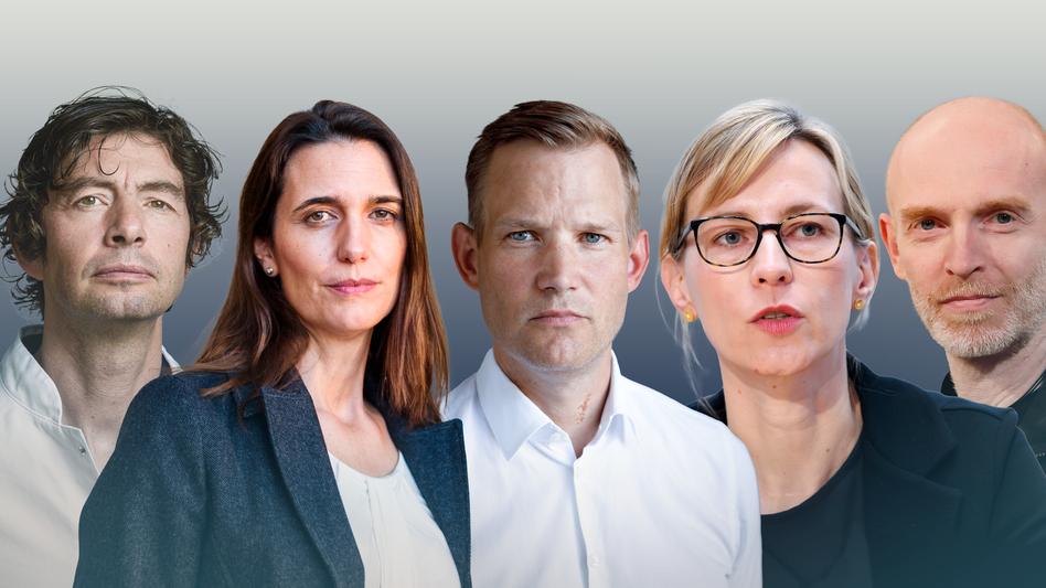 Corona-Experte Drosten, Brinkmann, Streeck, Eckerle und Meyer-Hermann