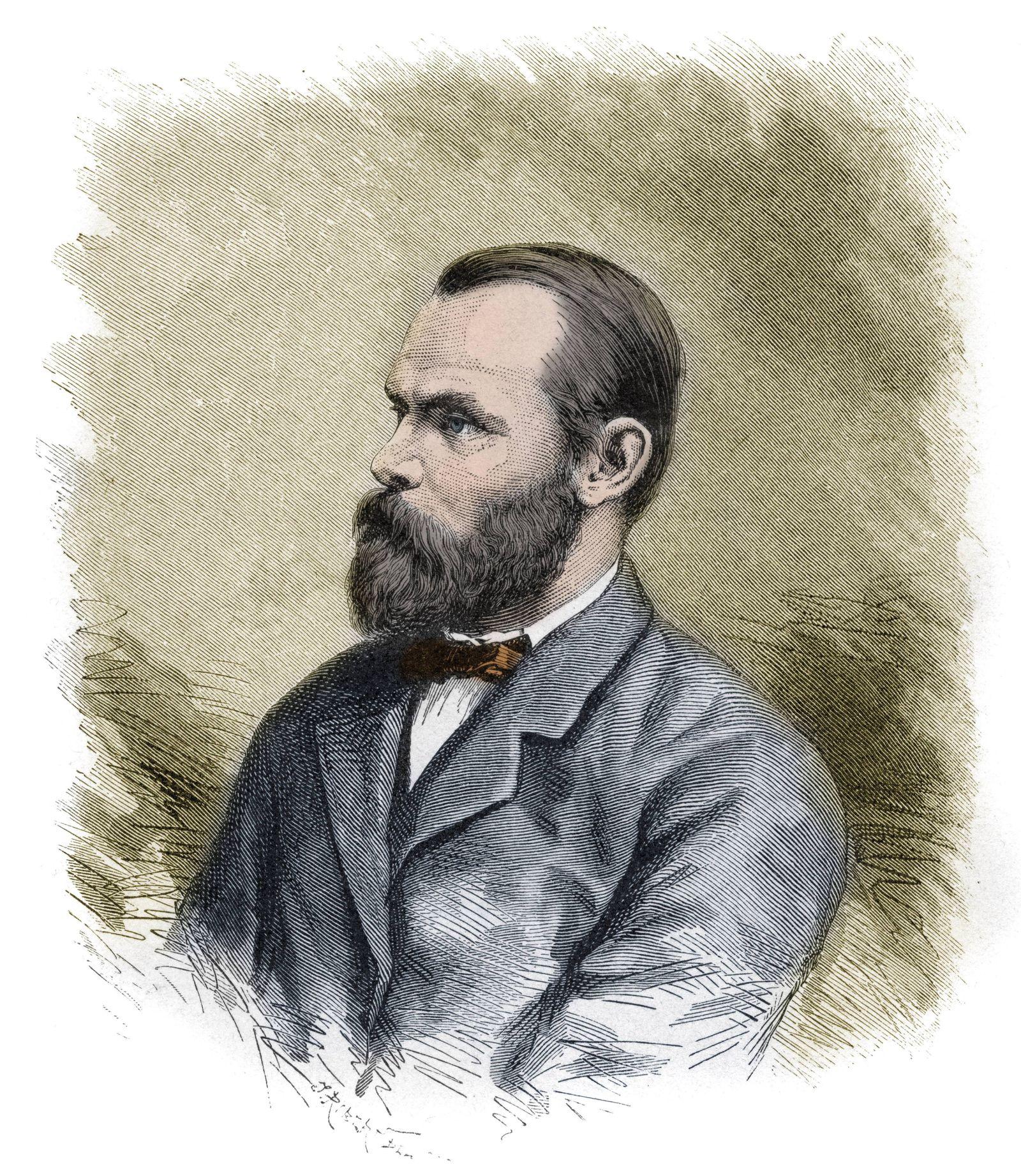 Carl Christian Koldewey 1837 1908 German Arctic explorer leader of both German North Polar Expedi